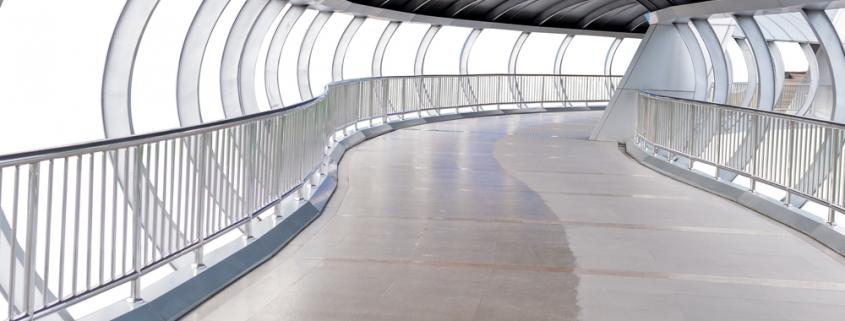 elevated walkways - waterproofing