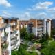 elevated balcony