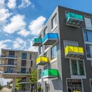 elevated balconies